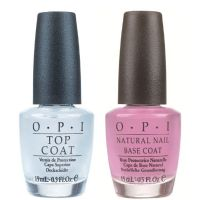 OPI Nail Polish  -  DUO BASE COAT & TOP COAT - VALUE PACK